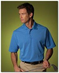 $36.77 > Adidas Golf A60 Men's ClimaLite Tech Stripe Polo - Available Colors: 5, Size Range: S - 3XL