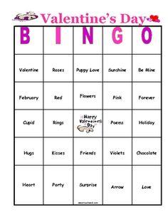 free valentine bingo template free and printable valentine s day