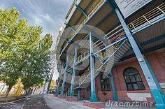 Renato Dall'Ara stadium. Bologna, Italy