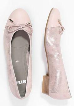 ara BARI - Ballerina's - rose - Zalando.nl Bari, Ballerina, Rose, Pink, Ballet Flat, Roses, Ballerina Drawing