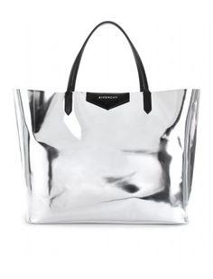 068eefbe96e4 Givenchy antigona metallic leather shopper Jeans