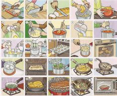 grey FOOD PREPARATION, RECIPES, Cooking food