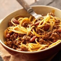 Cincinnati Style Chili - Weight Watchers -A Taylor Family Favourite!