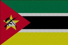 Mozambique Flag Large Glass Cutting Board by MyHeritageWear.com. $29.99