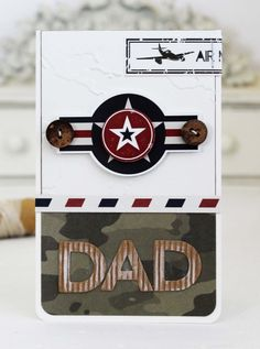 Dad card by Melissa Phillips for SCT Magazine