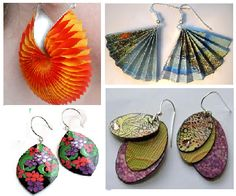 pictures of paper jewelry - Bing Images