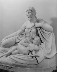 """""""Latona and Her Children, Apollo and Diana, 1874 William Henry Rinehart (1825–1874) """""""