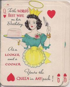 Happy B Day Brenda Daniele Women Vintage Birthday Cards