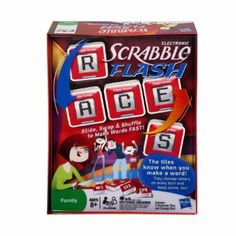 Scrabble Flash: electronic version of the classic game, winner of the 2010 Oppenheim Platinum Award.