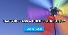 Can You Pass A Color Blind Test?