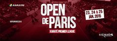 Bulletin Karate1 Paris Open 2015
