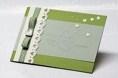 Bastelhandwerk.at: Hochzeitskarte mit Farbvorgabe