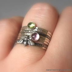 bumble bee ring! Reminds me of my precious Grandmom. @Camille Childress