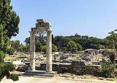 Altar of Dionysus Kos Island Dodecannese