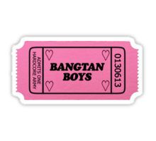 Bangtan Boys Ticket Pegatina