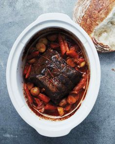 Classic Pot Roast for the Slow Cooker