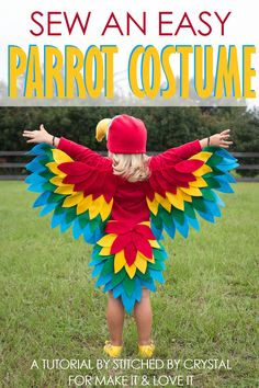Sew an Easy Parrot Costume (Make It and Love It)