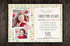 Valentine Marketing Mini Session PSD by Studio29 on Creative Market