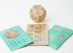 3D Laser Cut Architectural Ornament Sacred by ThomasHouhaDesigns
