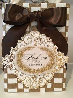 Anna Griffin Artfully Said Vellum Jane Makuch Die Cut Cards, Love Cards, Diy Cards, Handmade Cards, Thank You Cards, Anna Griffin Inc, Anna Griffin Cards, Vellum Crafts, Paper Crafts