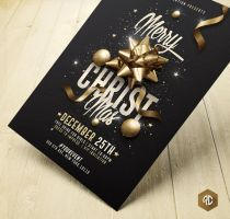 Merry Christmas| Advertising Flyer Template by RomeCreation
