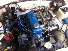 My 1200 engine bay Datsun Car, Nissan Sunny, Mini Trucks, Subaru, Jdm, Cool Cars, Toyota, Engineering, Model Car