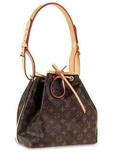 my very first LV, Petit Noe, bought for me by my mom years ago..