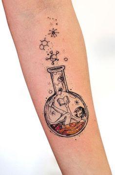 Best Tattoos from Awesome Tattoo Artist Robson Carvalho - tatoo feminina Tattoo Girls, Girl Tattoos, Tattoos For Women, Tatoos, Future Tattoos, New Tattoos, Body Art Tattoos, Small Tattoos, Pretty Tattoos