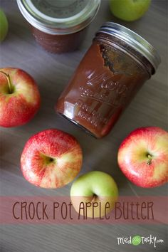 Crock Pot Apple Butter // TriedandTasty