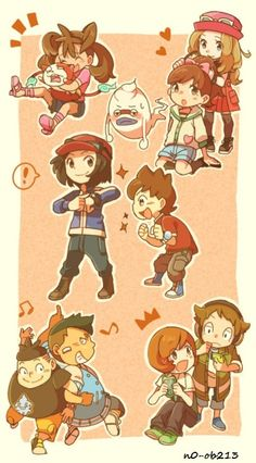Pokemon and Yo-kai Watch by N0-oB213 on DeviantArt
