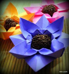 Flor porta-docinho (flower container)