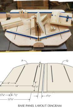 Don't just make a table saw sled, make a MegaSled.