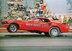 photos of gas rhondas mustang | Russ Davis Gas Ronda Ford Mustang AA/FC Funny Car