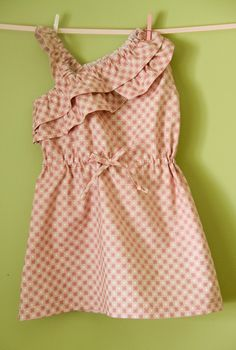 Faux One-shoulder Sundress... This link takes you to page to buy the pattern.