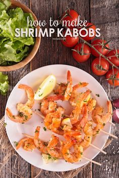 Here you'll find every delicious recipe for grilled shrimp kabobs ever made.
