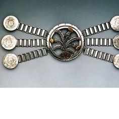 Rastra de plata y oro, del orfebre Alberto Calatrava