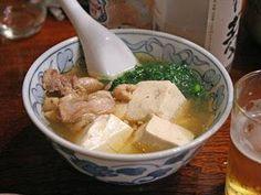銀座三州屋 鳥豆腐