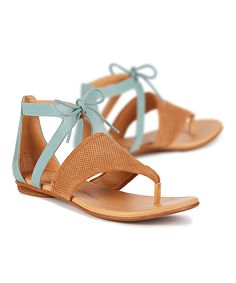 This Tan Acacia Suede Sandal by EMU Australia is perfect! #zulilyfinds