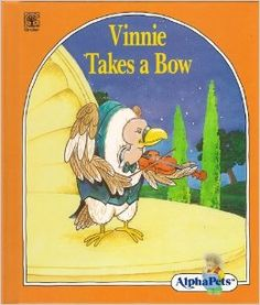 Lerner, Vinnie Takes a Bow, violin, music, orchestra, instruments, V words,