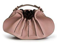 SALVATORE FERRAGAMO | Leather rose handbag