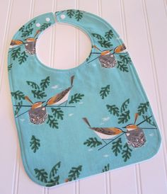 SWEET NATURALS/ Organic Line/Toddler Bib/12-24 by SweetbugStudio