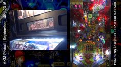 Ripley's pinball machine: Atlantis + Frog Frenzy in same game (from live...
