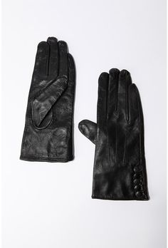 Classic Leather Gloves. $34.00
