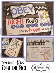 "Obedience: An Issue of the Heart. Teaching Blog ""At Whits End"" has just started, but let me tell you, I can see good things coming from this new blogger. Her obedience post can apply to our own children or our students. Really it can apply to us too. Great Post Whitney. xoxo Katie from Teachertothecore.com"