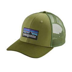 P-6 LOGO TRUCKER HAT, Crag Green (CRGN)