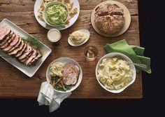 St. Patrick's Day feast a la Bon Appetit