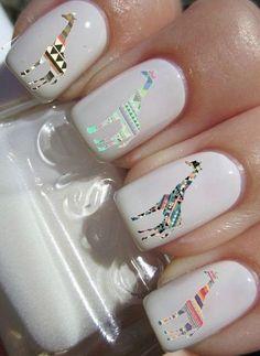 stickers de animales para uñas
