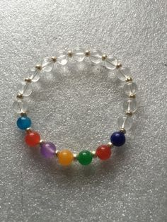 7 Chakra Bracelet, Chakra Mala Beads, Yoga Jewelry, Chakra Balancing B – AwakenYourKundalini