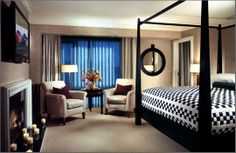 The Charles Hotel presidential suite. Ben Affleck and the Dalai Lama slept here.