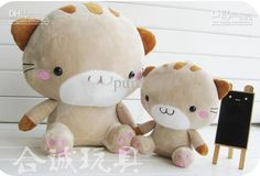 Lovely Cutie Mineco Cat Couple Plush Dolls